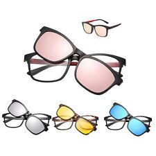 Lunettes Full Cadre With Magnétique Clip Polarisé Sunglasses Dual-use Lunettes