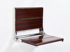 Life Line - Walnut Contour Shower Seat