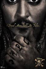 62267 Pirates of the Caribbean Dead Men Tell No Tales Wall Print Poster CA