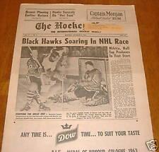 hockey news  nov 9 1963 vol 17 # 6  gordie howe
