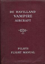 DE HAVILLAND DH100 VAMPIRE Mks. 5, 6, 20, 50, 52 / 1949