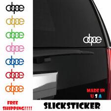 DOPE Audi Decal - Vinyl Sticker A4 S4 - a6 - rs4 4 rings euro european car