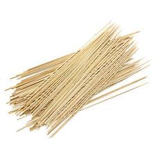 """BBQ grigliare spiedini di bambù spiedini di frutta Fontana di cioccolato bastoncini di legno 30cm 12"""" x 3mm"""