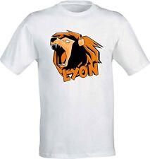 T-Shirt  Lyon Youtuber Italia - WhenGamersFail - WGF - Il Vero Leone -