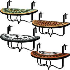Balkonhängetisch Mosaik Klappbar Klapptisch Hängetisch Mosaiktisch Gartenmöbel