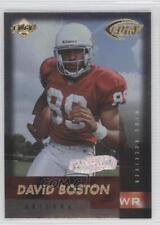 1999 Collector's Edge Fury Preview Galvanized 156 David Boston Arizona Cardinals