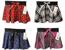 New Circular Ladies Women Tartan Mini Skirt With Attractive Bow Style