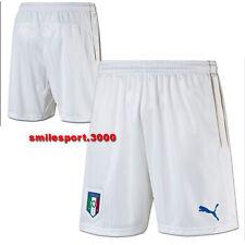 Puma 748835 Italia Pantaloncini Bianchi Ufficiali 2016 FIGC Short White