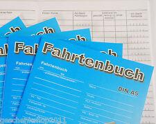 Fahrtenbuch A6 Fahrtenbuch A5 Fahrtenbücher Fahrtenheft 20 Blatt
