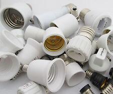 1pc E10-E40 G9 B22 MR16 GU10 G24 GU24 BA15D Candelabra Socket Bulb Converter