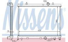 NISSENS Kühler, Motorkühlung PEUGEOT 206 63504