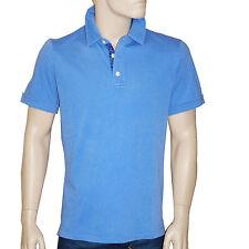 Polo tee shirt HARRIS WILSON homme manches courtes bleu taille S