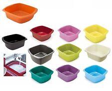 Addis Large Plastic Washing Up Bowl Rectangular Kitchen Basin 9.5 Litre