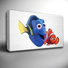 Alla ricerca di Nemo-FILM DEL FILM DI ANIMAZIONE-Giclee su tela art