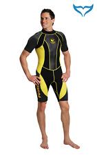 Poseidon Wetsuit Journey Shorty XS S schwarz gelb Neopren Anzug Herren Man male