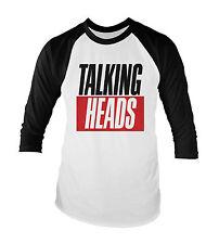 Talking Heads Unisex Baseball T-Shirt All Sizes