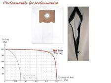 1x Staubbeutel/Filtersack mit REIßVERSCHLUß / zip dust bag fuer PROTOOL: