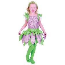 GIRLS FOREST FAIRY PRINCESS FANCY DRESS COSTUME