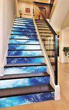 3D Blue Sea Water 5266 Risers Decoration Photo Mural Vinyl Decal Wallpaper CA