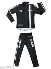 New Wulfsport Max Black Classic Trials Pants & Jersey Pre 65 Montesa Bultaco Swm