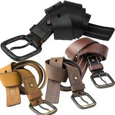 Timberland Pro Leather Belt Vintage Style Rivet Double Stitch 40mm Belts BP0008