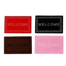 Welcome Home Entrance Floor Rug Non-slip Doormat Carpet Decor Mat Door Lett Z2R4