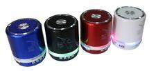 CASSA AUDIO MINI SPEAKER BLUETOOTH PORTATILE LED TF RADIO FM USB MP3 T-2308A
