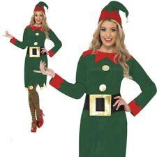 Mujer Disfraz de Duende SEXY ayudante de Santa Mujer elfo disfraz