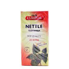 EVRIPOS FROM GREECE GREEK NETTLE (PACKET 20 BAGS) TSOUKNIDA