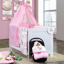 7 Teiliges Luxus Bettset mit Stickerei Prestij in rosa