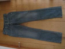 Ragazze Levis Red Tab SKINNY LAVAGGIO MEDIO Stonewashed jeans blu 27 Girovita UK 8 XS