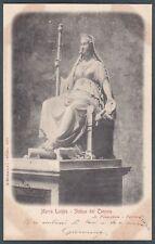 MARIA LUIGIA 01 CANOVA PARMA MARIA LUISA 1903 Cartolina