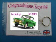 50th Birthday Keyring
