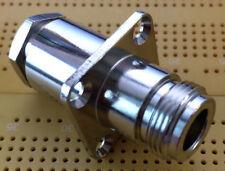 Connettore di tipo N-pannello montato RG213 Donna RG214 Connettore Del Cavo 50 ohm HV IP67