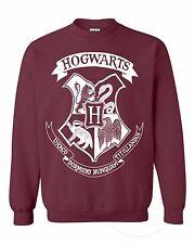 HarryPotter Hogwarts Crest Logo Magic Fashion Unisex Crewneck Sweatshirt Top