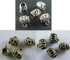 150pcs Silver/Gold/Bronze Color Nice Bails 10x8.5mm 16