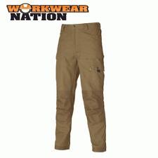 Dickies Ropa De Trabajo Eisenhower Bolsillo Pantalones, Rodilla PLAQUITAS Caqui