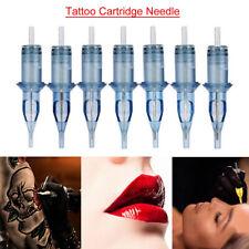 10pcs Disposable RL Tattoo Cartridge Needles Eyebrow Makeup Needle Professional