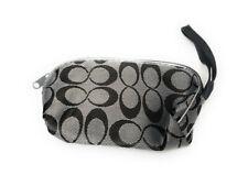 "3.5"" X 5.5"" Infinity Pattern Small Zipper Cosmetic Bag w/ Wrist Strap"