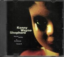 KENNY WAYNE SHEPHERD Born with a RARE VERSION PROMO DJ CD single Broken Heart