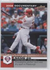 2008 Upper Deck Documentary #806 Chase Utley Philadelphia Phillies Baseball Card