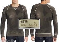 NWT $298 Diesel Slim Fit Camo-Print Sweatshirt
