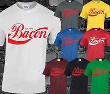 Enjoy Bacon Mens T Shirt Top Coca Cola Inspired Funny Joke Comedy Printed S-3XL