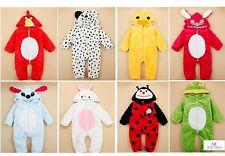 Enfants Bébé Animal Costume Déguisement Plush Barboteuse Costume De Fête