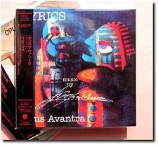 Opus Avantra , Lyrics ( CD-Paper Sleeve Japan ) [Cardboard Sleeve]