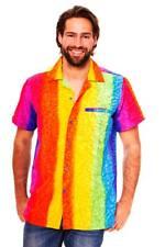 Funky Camisa Hawaiana Rainbow Vertical