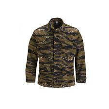 Tiger Stripe BDU Shirt Tactical Military Uniform 4-Pocket Coat / Jacket Propper