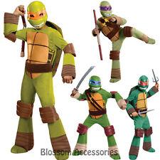 CK132 Teenage Mutant Ninja Turtle TMNT Deluxe Children Kids Superheroes Costume