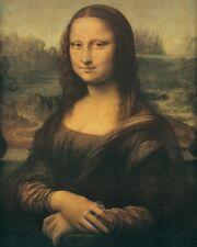 Mona Lisa or La Gioconda by Leonardo da Vinci. Fine Art Reproduction Poster