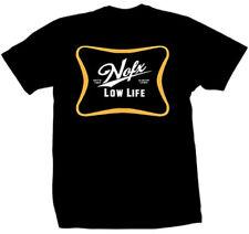 NOFX LOW LIFE LOGO SINCE 1983 PUNK ROCK METAL MUSIC BAND T TEE SHIRT S-XL